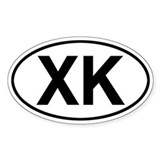 XK Jeep Commander Decal