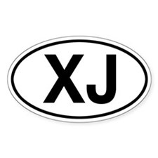 XJ Jeep Cherokee Stickers