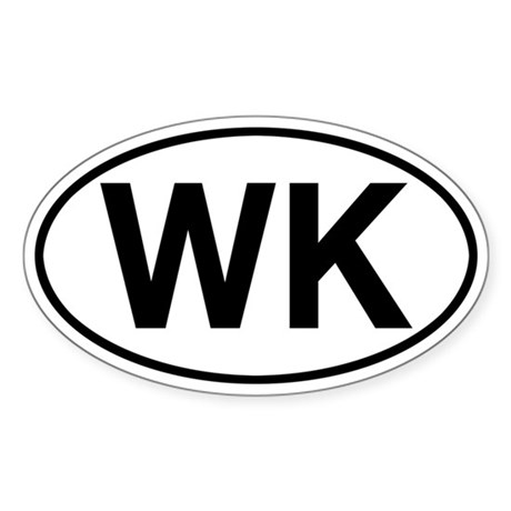 WK Jeep Grand Cherokee Sticker