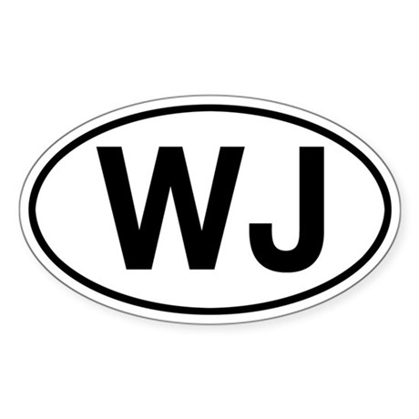 WJ Jeep Grand Cherokee Sticker