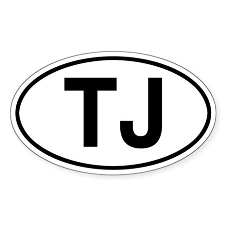 TJ Jeep Wrangler Sticker
