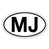 MJ Jeep Comanche Bumper Stickers