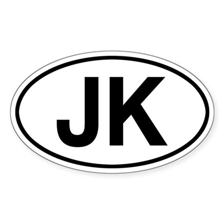 JK Jeep Wrangler Sticker