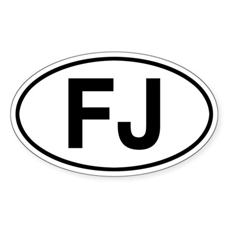 FJ Fleetvan Jeep Sticker