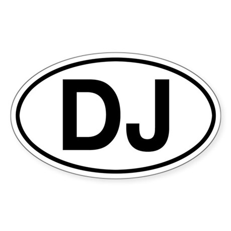 DJ Dispatcher Jeep Sticker