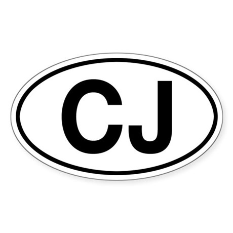 CJ Civilian Jeep Sticker
