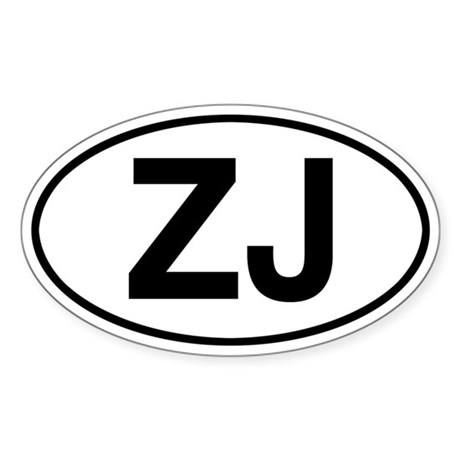 ZJ Jeep Grand Cherokee Sticker