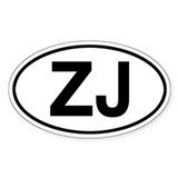 ZJ Jeep Grand Cherokee Decal