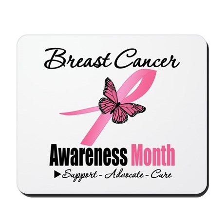 Breast Cancer Month Support Mousepad