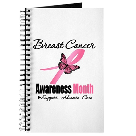 Breast Cancer Month Support Journal