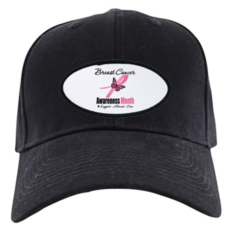 Breast Cancer Month Support Black Cap