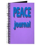 Journal - PEACE Journal in 3D (purple)