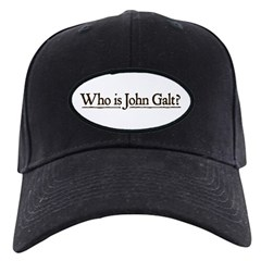 Who is John Galt? Black Cap
