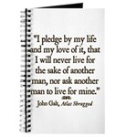 Galt Pledge Journal