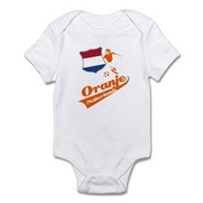 Dutch soccer Infant Bodysuit