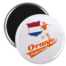 "Dutch soccer 2.25"" Magnet (100 pack)"