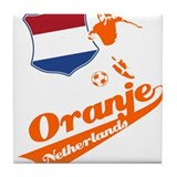Dutch soccer Tile Coaster