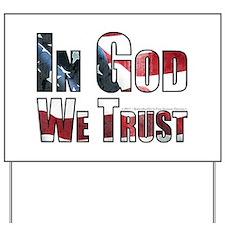 In God Yard Sign