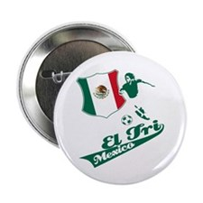 "Mexican soccer 2.25"" Button (100 pack)"