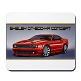 Red Mustang GT500KR Concept Mousepad
