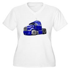 Peterbilt 587 Blue Truck T-Shirt