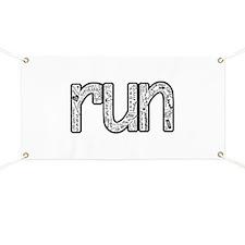 Unique Running Banner
