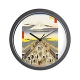 Utagawa Wall Clock