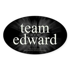 Team Edward Sparkle Decal