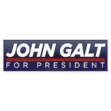 John Galt for President Bumper Sticker