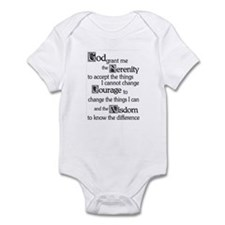 SERENITY PRAYER Onesie