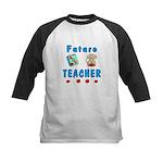 Future Teacher Kids Baseball Jersey