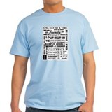 12 STEP SLOGANS T-Shirt