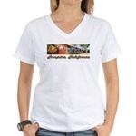 Dominguez High Women's V-Neck T-Shirt
