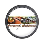 Dominguez High Wall Clock