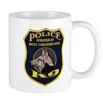 West Conshohocken Police K9 Mug