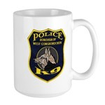West Conshohocken Police K9 Large Mug