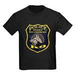 West Conshohocken Police K9 Kids Dark T-Shirt