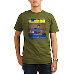 LAX Organic Men's T-Shirt (dark)