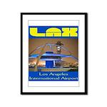 LAX Framed Panel Print