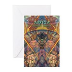 Africa.1 Land of Beauty Greeting Cards (Package of