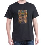 Africa.1 Land of Beauty Black T-Shirt