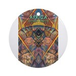 Africa.1 Land of Beauty Ornament (Round)