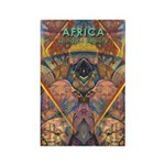 Africa.1 Land of Beauty Rectangle Magnet