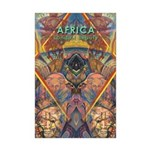 Africa.1 Land of Beauty Mini Poster Print