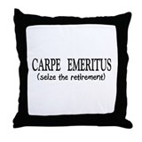Retired II Throw Pillow