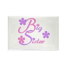 Big Sister Pastels Rectangle Magnet
