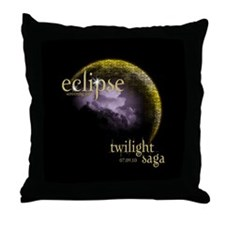 UK Eclipse Screening Party Throw Pillow