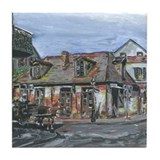Black Smith Shop NOLa Tile Coaster