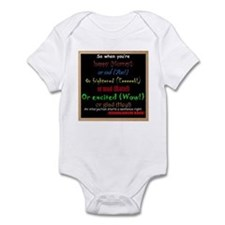 SchoolhouseRockTV Interjections Infant Bodysuit