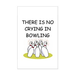 bowling gifts Posters